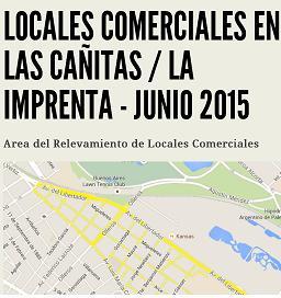 Relevamiento Locales Comerciales en Las Cañitas