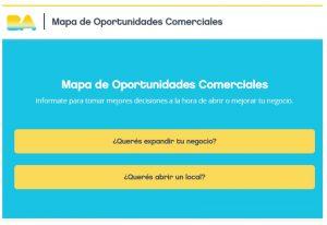 Mapa de Oportunidades Comerciales en BA