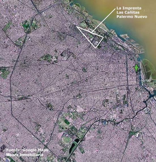 Mapa Satelital de CABA