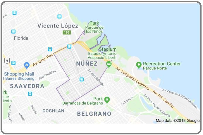 Barrio de Nuñez: oferta de departamentos y precios