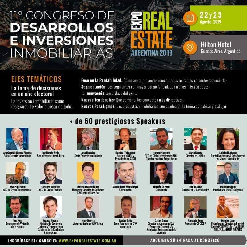 Maure Inmobiliaria en Expo Real Estate Argentina 2019