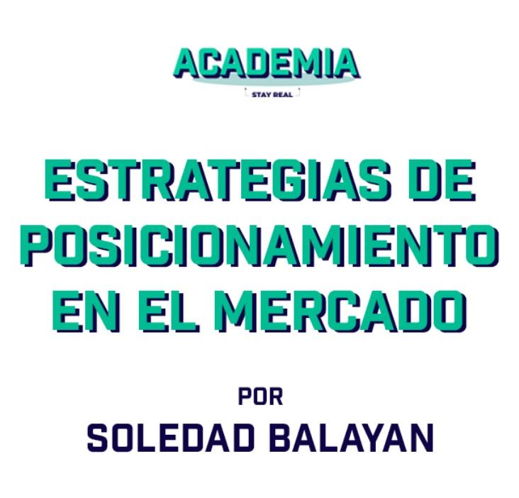 Soledad Balayan se suma a Academia Stay Real